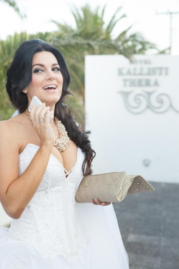 Lulu em Santorini Casamento em Santorini