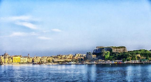 corfu ilhas gregas Grécia