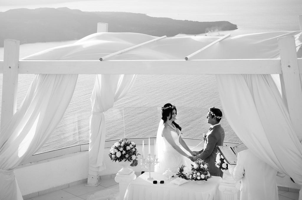 Casamento em Santorni
