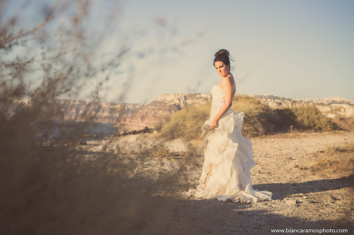 Luana casamento em Santorini 7