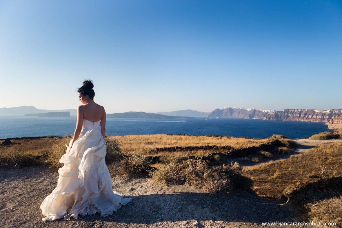 Luana casamento em Santorini 8