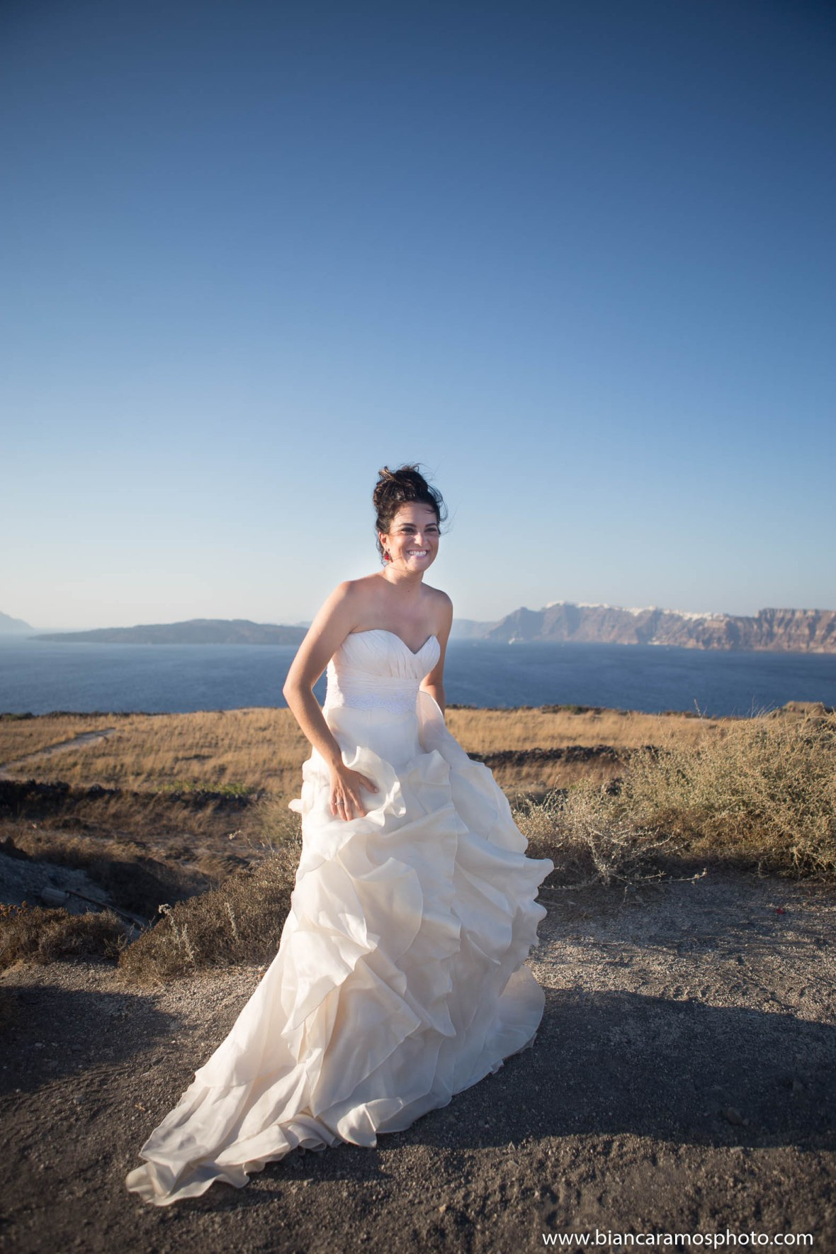 Luana casamento em Santorini 9