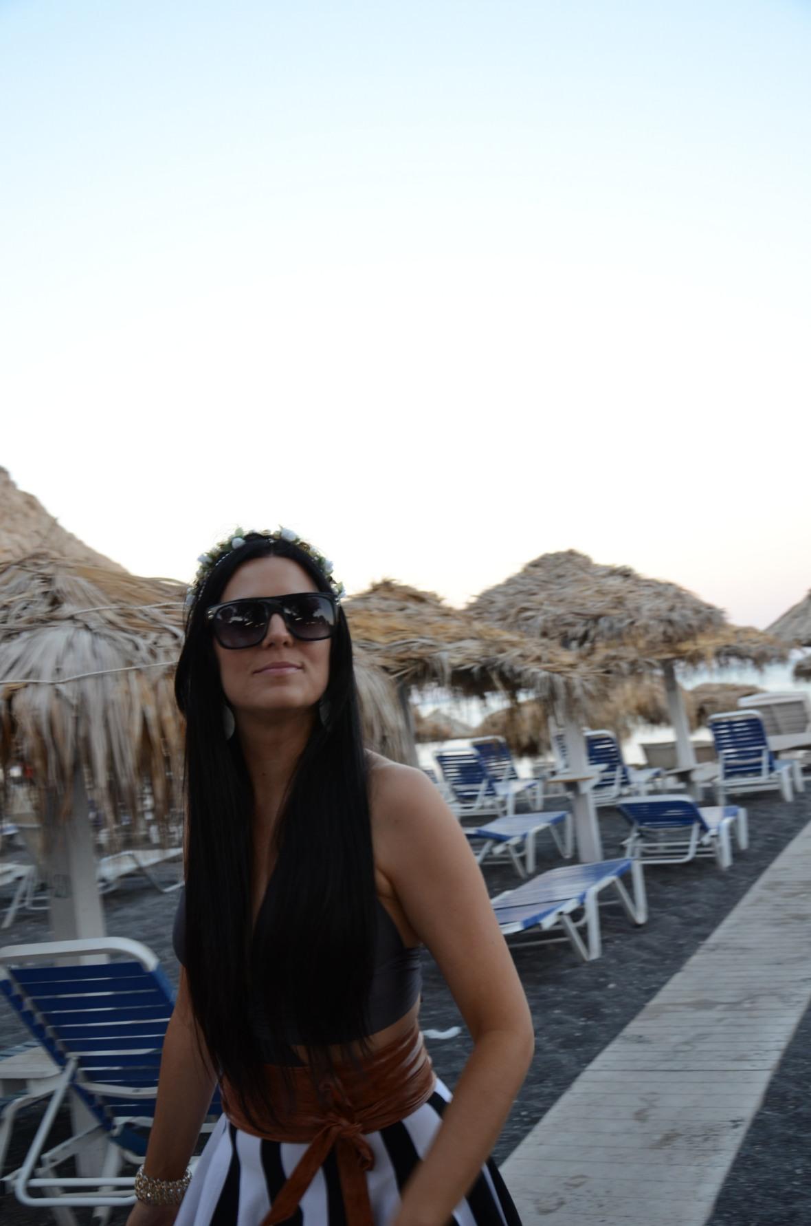 Santorini ilha Grécia