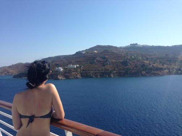 Santorini cruzeiro lulu em santorini