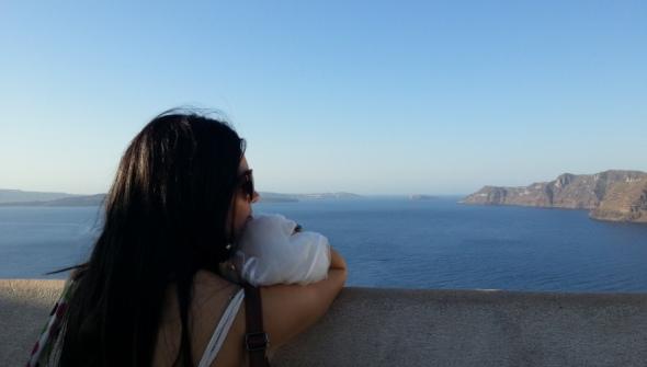 morar em Santorini Grécia