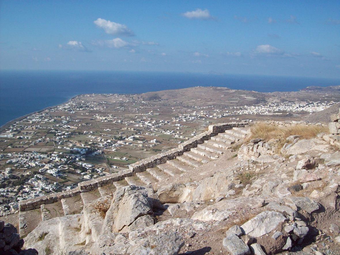 Thera Antiga O que fazer em Santorini