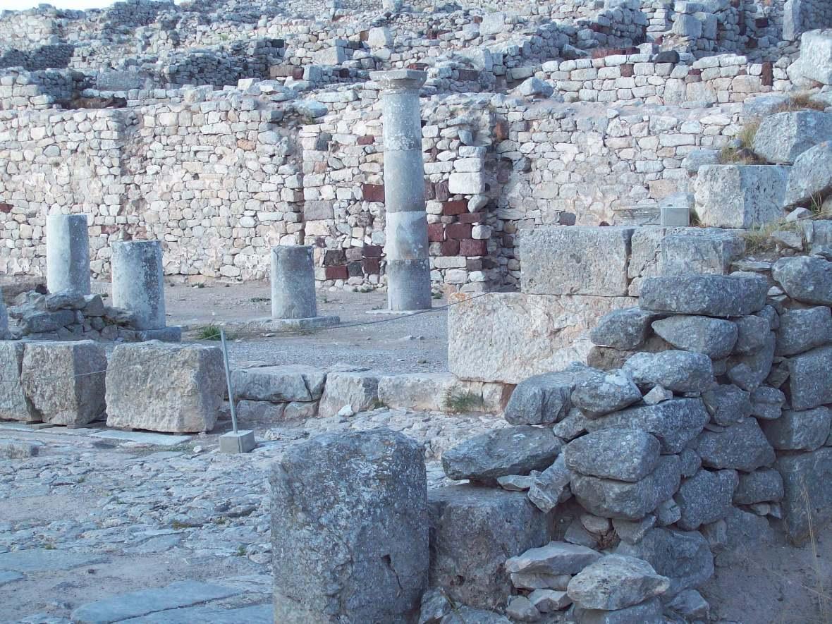 Thira Antiga o que fazer em Santorini