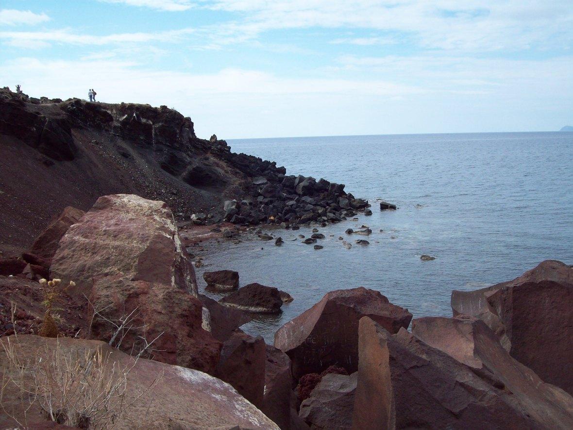 Praia vermelha o que fazer em Santorini 4